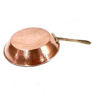 Frigideira de Cobre com Cabo de Bronze G