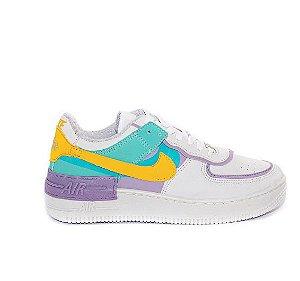Tênis Nike Air Force 1 Shadow Branco Pink - Pout Shoes