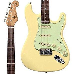 Guitarra Stratocaster Sx Sst 62 Vwh Branca