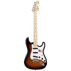 Guitarra Stratocaster Sx Sst Alder 3 Ts