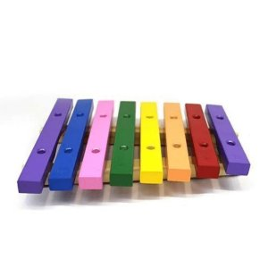 Xilofone Infantil Jog Music 8 Teclas Colorido P 2115