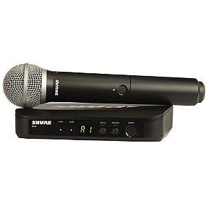 Microfone sem Fio Shure Mao Blx 24 Br Pg 58 M 15