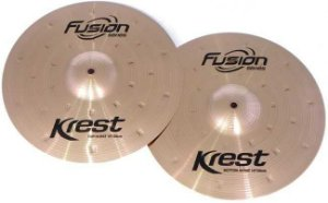 """Prato Krest Fusion F 14 Mh 14"""" Medium Hi Hat"""