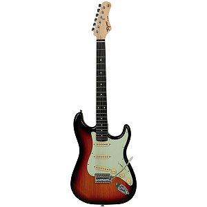Guitarra Stratocaster Tagima Tg 500 Sb Woodstock Sunburst