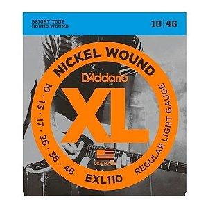 Encordoamento P/ Guitarra D'addario Exl 110 0.10