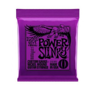 Encordoamento Guitarra 011 Ernie Ball Power Slinky 2220