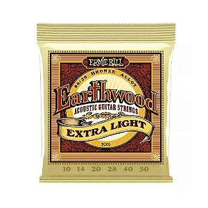 Encordoamento Violao Aco 010 Ernie Ball Extra Light 2090