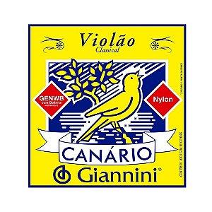 Encordoamento Violao Nylon Giannini Canario Genwb C/ Bolinha