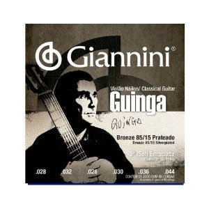 Encordoamento Violao Nylon Giannini Guinga Sscgg Tensao Alta