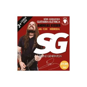 Encordoamento Guitarra 0.13 Sg Andreas Kisser