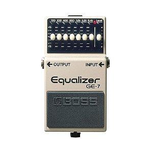 Pedal para Guitarra Boss Ge 7 Equalizer