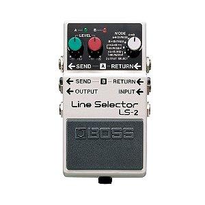Pedal P/ Guitarra Boss Ls 2 Line Selector