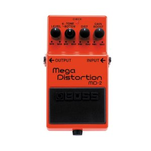 Pedal para Guitarra Boss Md 2 Mega Distortion