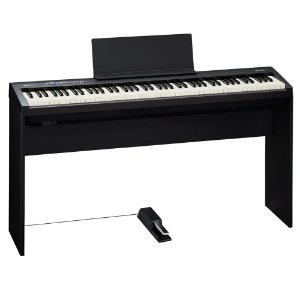 Piano Digital Roland FP-30 Com Estante e Pedal Bk