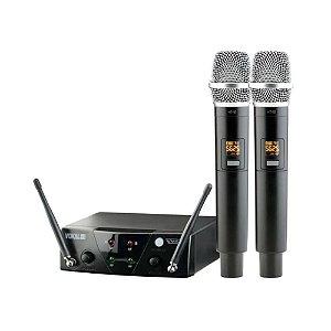 Microfone Sem Fio Vokal Vms 12 Mao