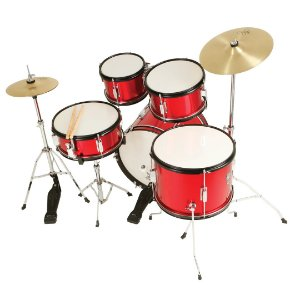 Bateria Nagano One Drum Junior Jbj 1049 Metalic Red