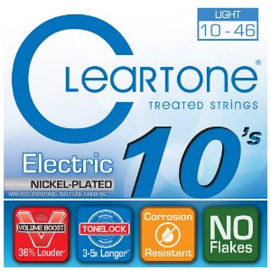 Encordoamento para Guitarra Cleartone 0.10 Light