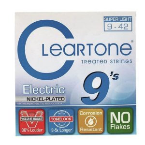 Encordoamento para Guitarra Cleartone 0.09 Super Light