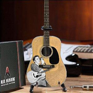 Miniatura do Violão 55 Elvis Presley