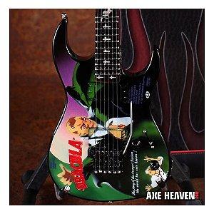 Miniatura da Guitarra Kirk Hammett - Drácula (Showroom)