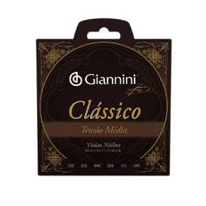 Encordoamento Violão de Nylon Giannini Clássica