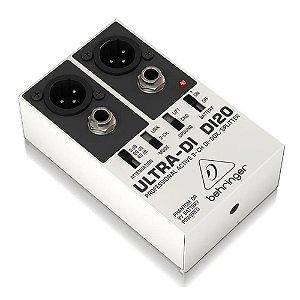 Direct Box Behringer Ultra Di 20 Duplo