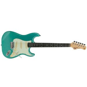 Guitarra Stratocaster Tagima Tg 500 Msg Woodstock Metallic Surf Green