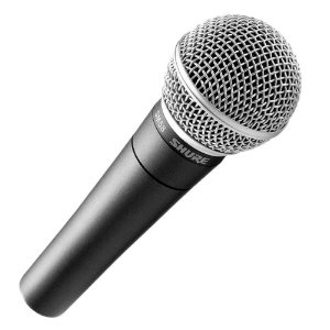 Microfone Shure Mao Sm 58 Lc