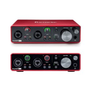 Interface De Audio Usb Scarlet 2 I 2 Focusrite 3 Rd Gen