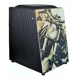 Cajon Nobre Tok Eletrico C/ Bongo Motor Moto