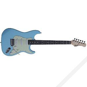 Guitarra Eletrica Memphis Mg 30 Sbls Sonic Blue Satin