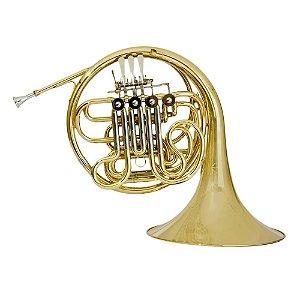 Trompa Prowinds Si Bemol / Fa Corpo Laq C/ Case