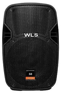 Caixa Ativa Wls S 8 C/Usb 150 Wrms 4 Owms