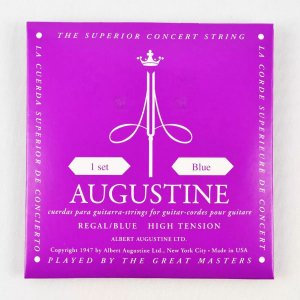 Encordoamento Augustine Violão Nylon Regal Blue High Tension