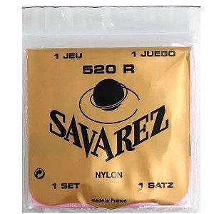 Encordoamento Violão Savarez 520 R Alta Nylon