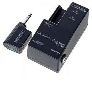 Transmissor E Receptor Boss Wireless Wl 50