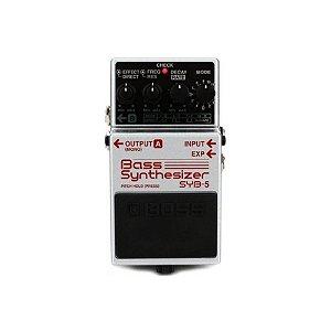 Pedal para Baixo Boss Syb 5 Bass Synthesizer