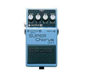Pedal para Guitarra Boss CH 1 Super Chorus