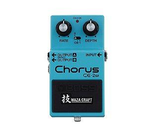 Pedal para Guitarra Boss CE 2W Chorus