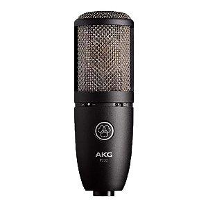 Microfone Estúdio Condensador AKG P 220 Perception