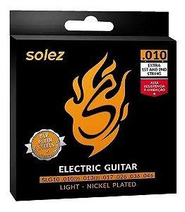 Encordoamento Solez Guitarra 0.10 Slg 10