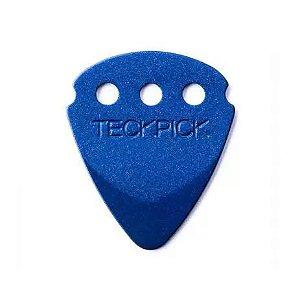 Palheta Dunlop Teckpick Aluminio Azul
