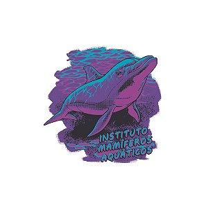 Camisa Golfinho Instituto Mamíferos Aquáticos