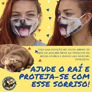 CAMPANHA 30 - Máscara de lontra