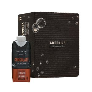 Coldbrew Chocolate 330ml Greenup Caixa com 12 Unidades