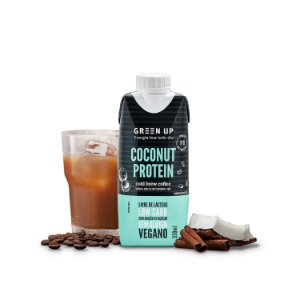 ColdBrew Coconut Protein GreenUp 330ml