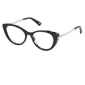Óculos Armação Web WE5288 005 Preto Acetato Feminino