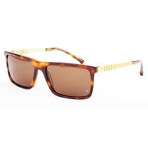 Óculos de Sol T-Charge T9045 G21 Demi Mesclado Lente Marrom