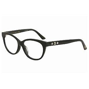 Óculos Armação Gucci GG0211OA 001 Preto Brilho Feminino