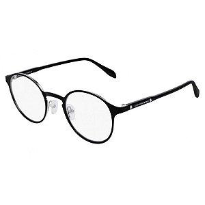 Óculos Armação Alexander MQueen AM0166O 002 Preto Redondo